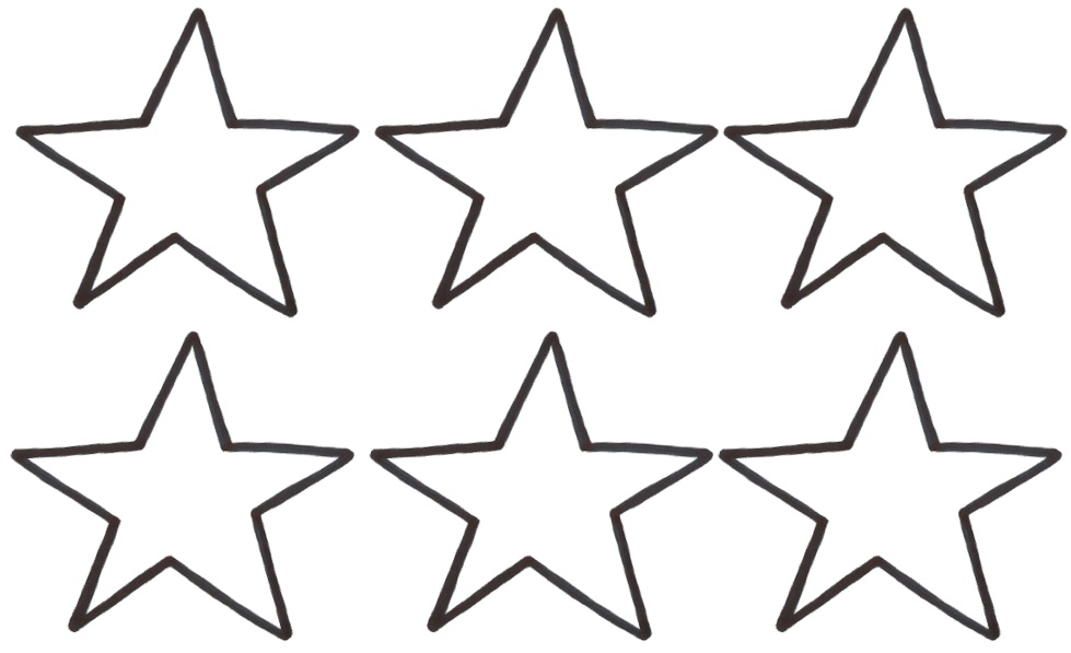 Star outline images large star related keywords clipart 2 2