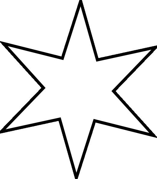 Star outline outline star clip art free vector 4vector