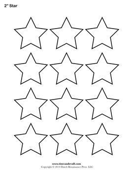 Star outline printable star templates free blank shape pdfs 2