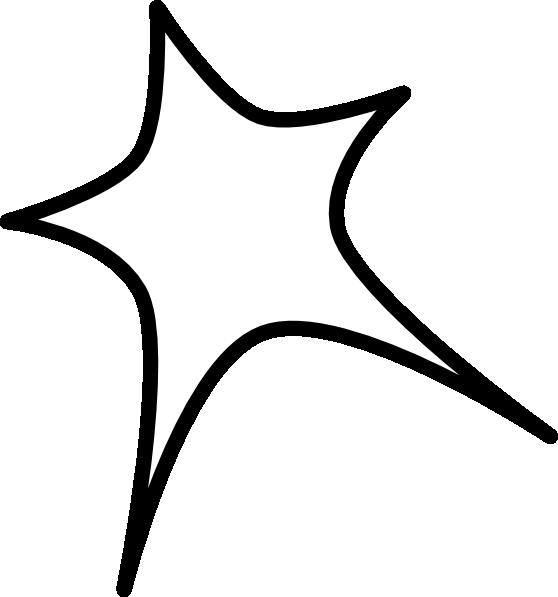 Star outline star sign outline clip art at vector clip art