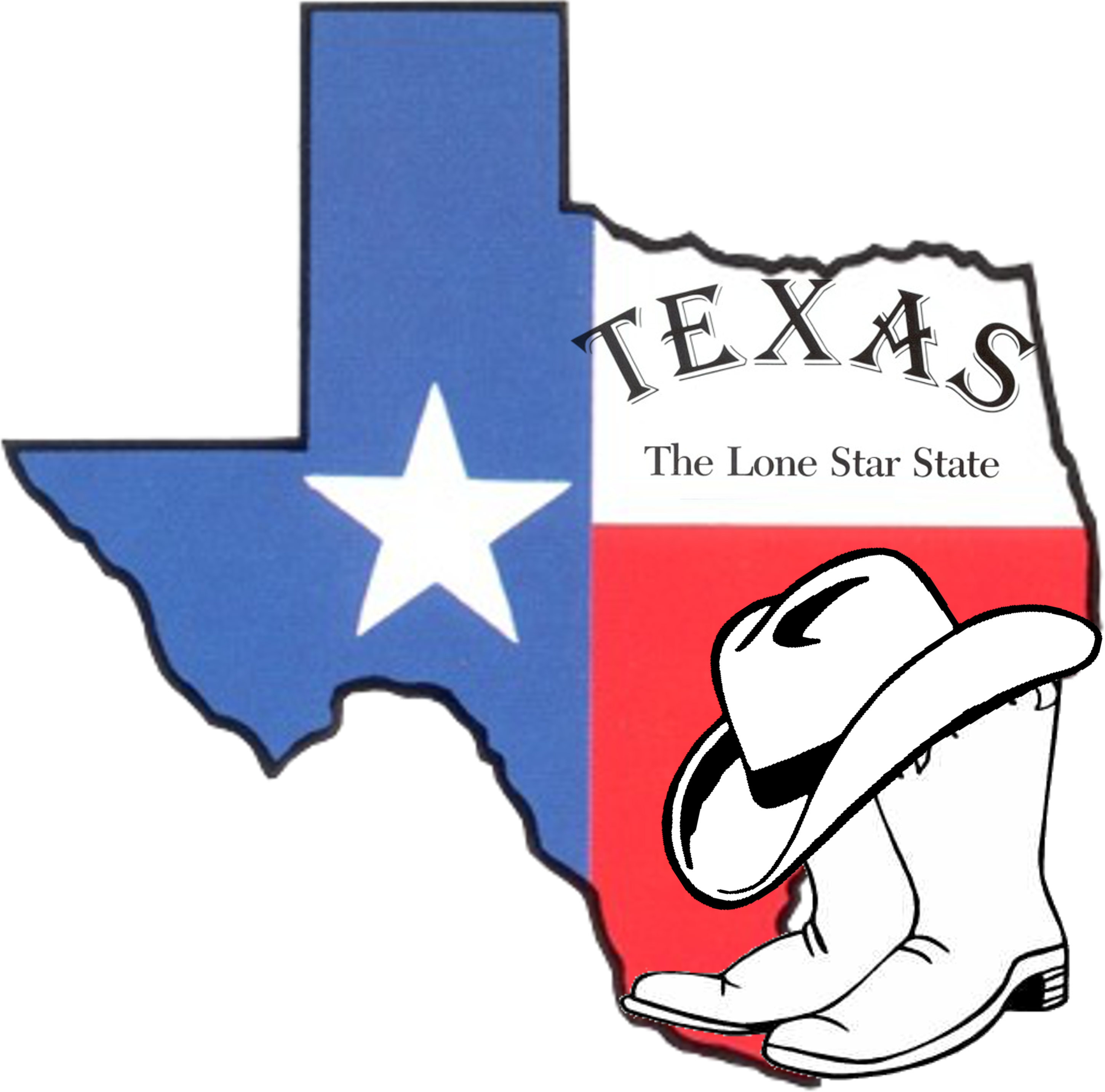 State of texas clip art clipart 6