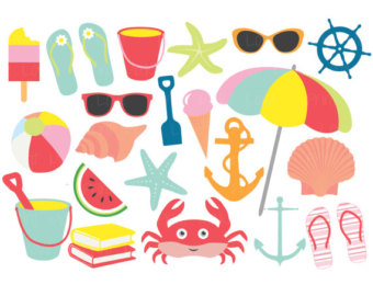 Summer clip art free clipart images