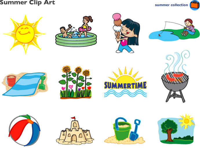 Summer clip art free images clipart 5