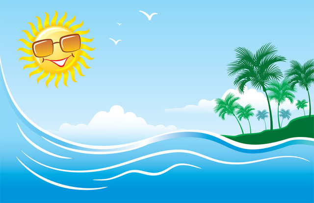 Summer images clipart