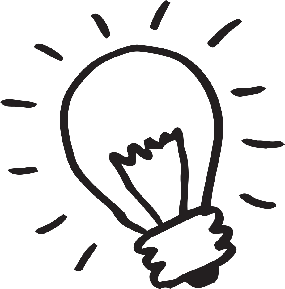 Thinking light bulb clip art free clipart images 5