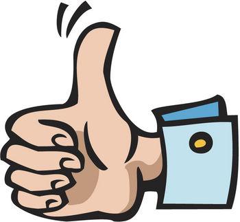 Thumbs up thumb clip art clipart 10 3
