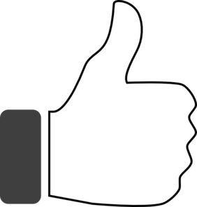 Thumbs up thumb clip art clipart 3 3