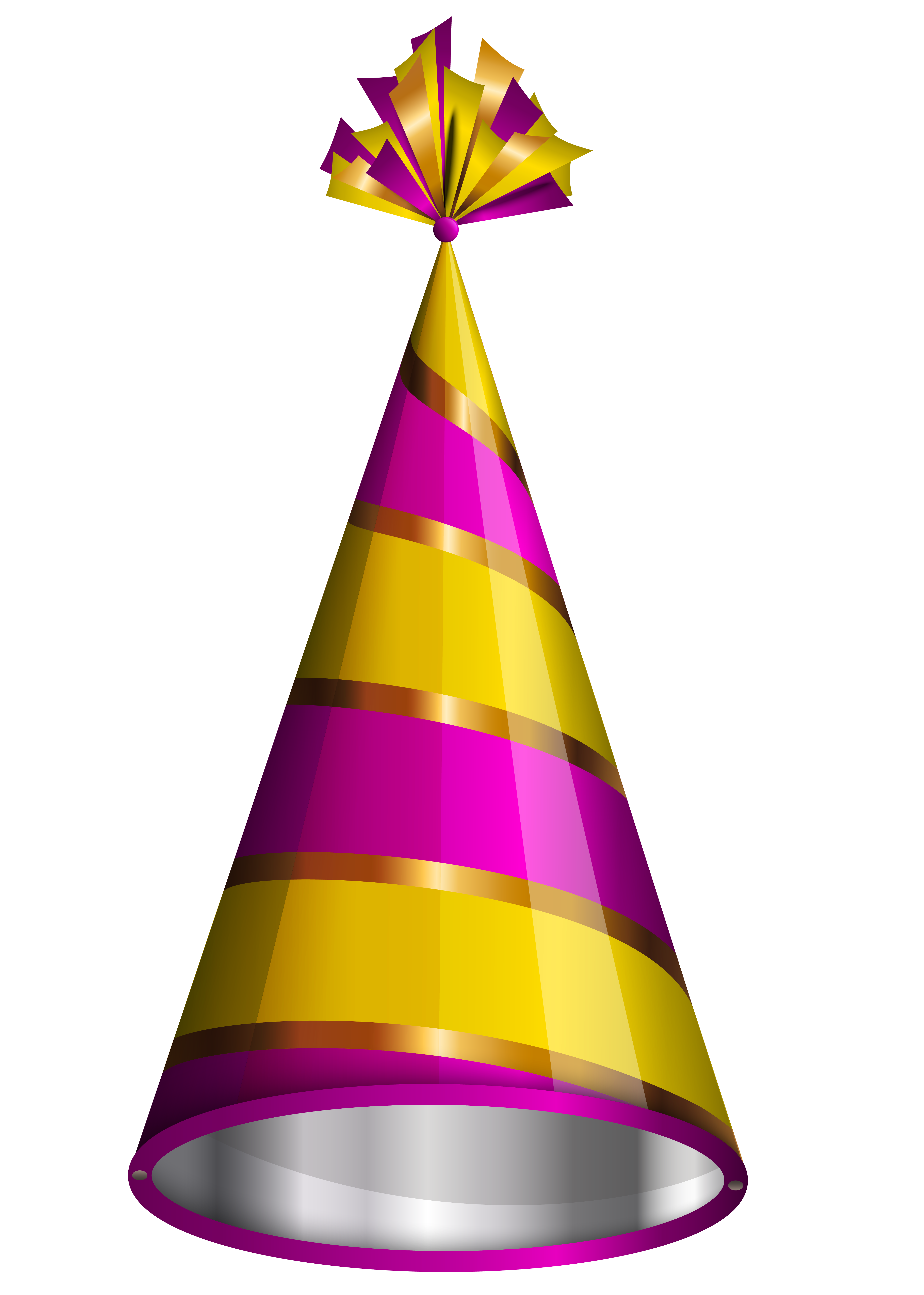 Birthday Hat Happy Party Hats Transparent Clipart 2 Right Click On This And Save In Your Local Drive