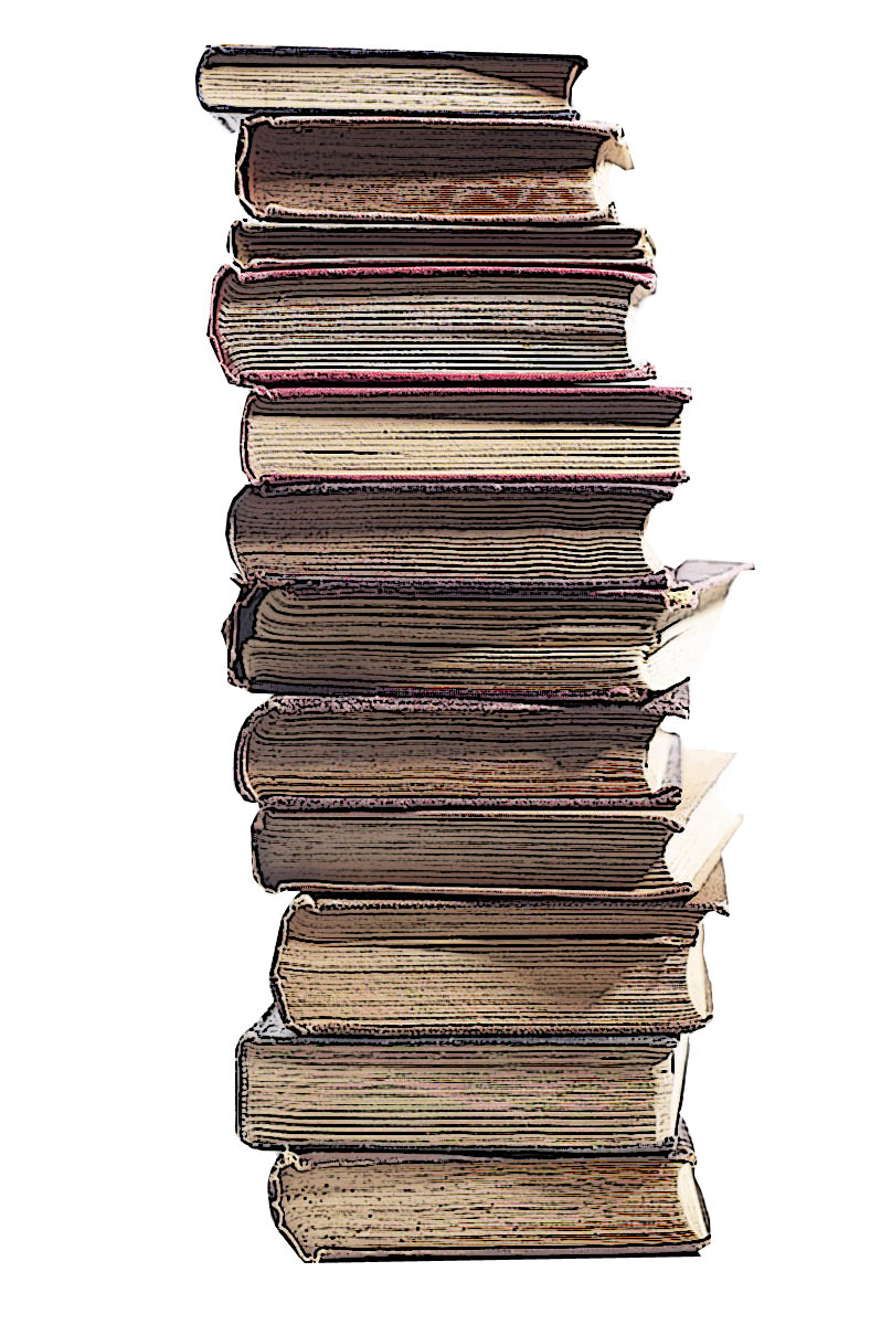 Book clipart stack of books 2
