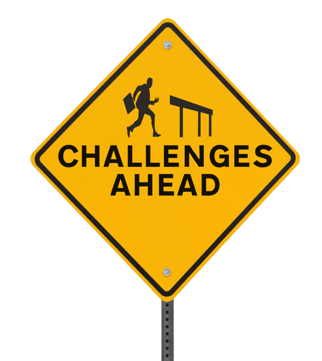 Challenge ahead clipart