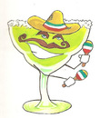 Clip art margarita glass clipart image