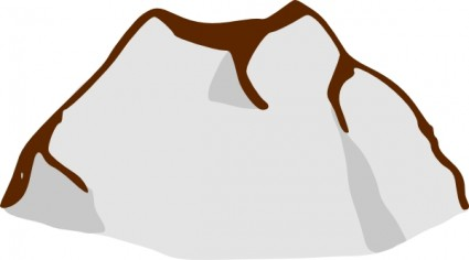 Clipart ilmenskie rock dull mid4 image