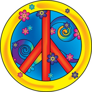 Clipart peace sign love 2