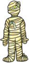 Cute halloween mummy clip art free clipart images image
