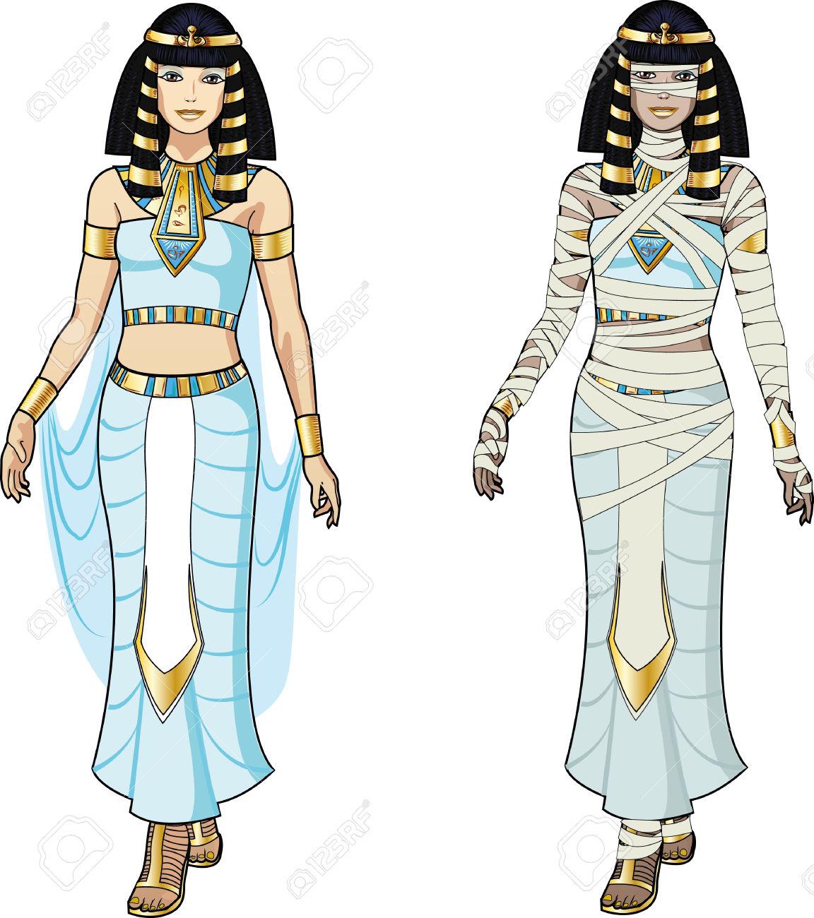 Egyptian mummy clipart image