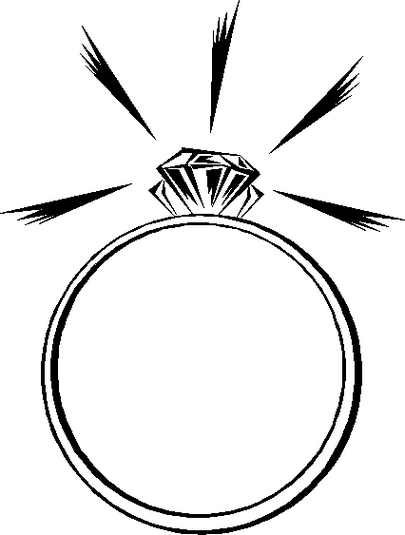 Engagement ring diamond ring engagement graphic rings graphics clipart