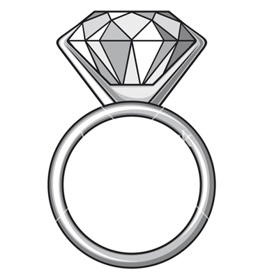 Engagement ring images clipart collection