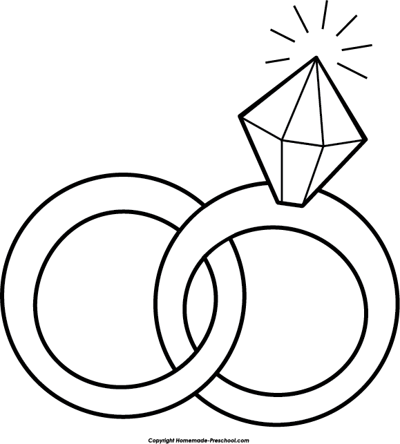 Engagement ring wedding ring clip art pictures free clipart images 5