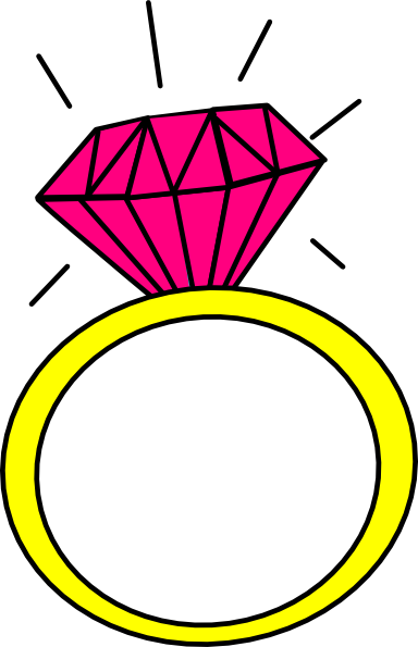 Engagement ring wedding ring engagement clipart 3