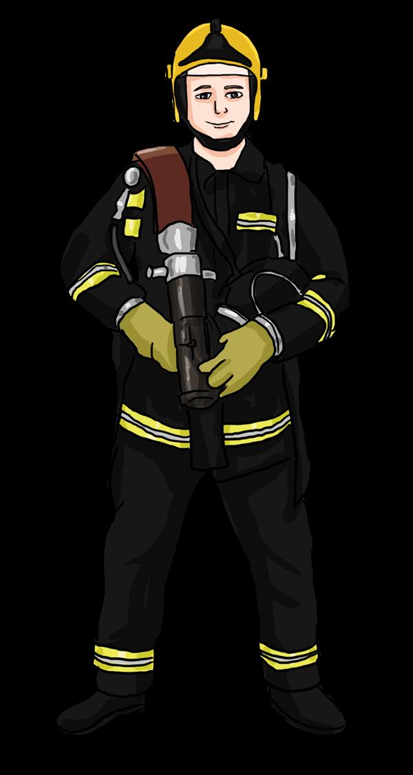 Fireman clip art clipart 2
