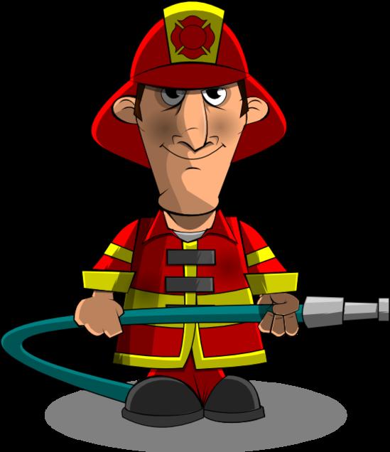 Fireman clip art clipart