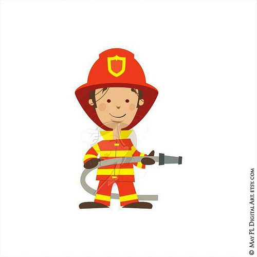 Fireman firefighter clip art firefighters 3