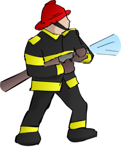 Fireman firefighter clipart for kids free images