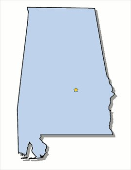 Free alabama clipart graphics images and photos