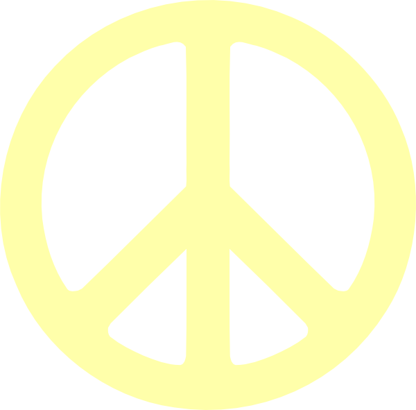 Free clip art peace sign clipart 2