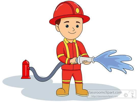 Free fireman clipart pictures