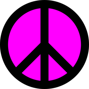 Free peace sign clipart 5