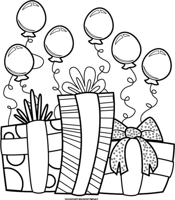 Happy birthday  black and white birthday black and white happy birthday clipart