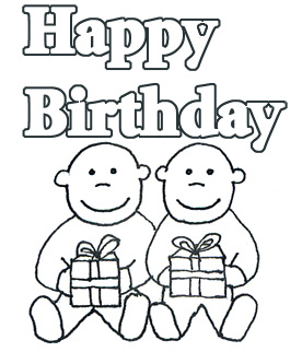 Happy birthday  black and white birthday clip art and free graphics