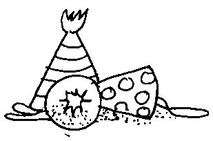 Happy birthday  black and white free black and white birthday clip art 2