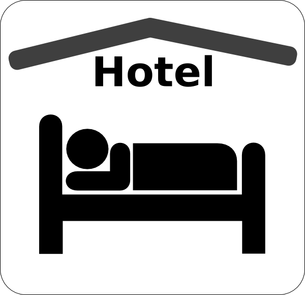 Hotel clip art free clipart images 4