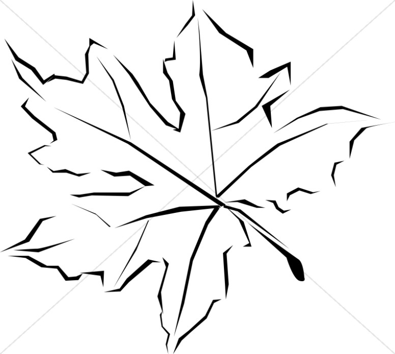 Leaf  black and white leaf clipart images graphics sharefaith 2