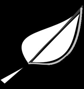 Leaf  black and white leaf outline clip art at vector clip art