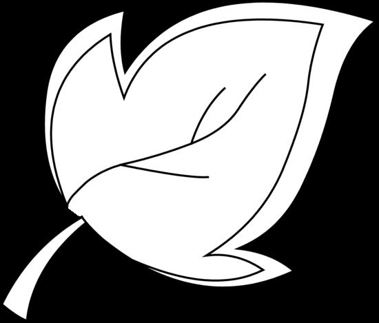 Leaf  black and white leaves clipart black and white schliferaward 2