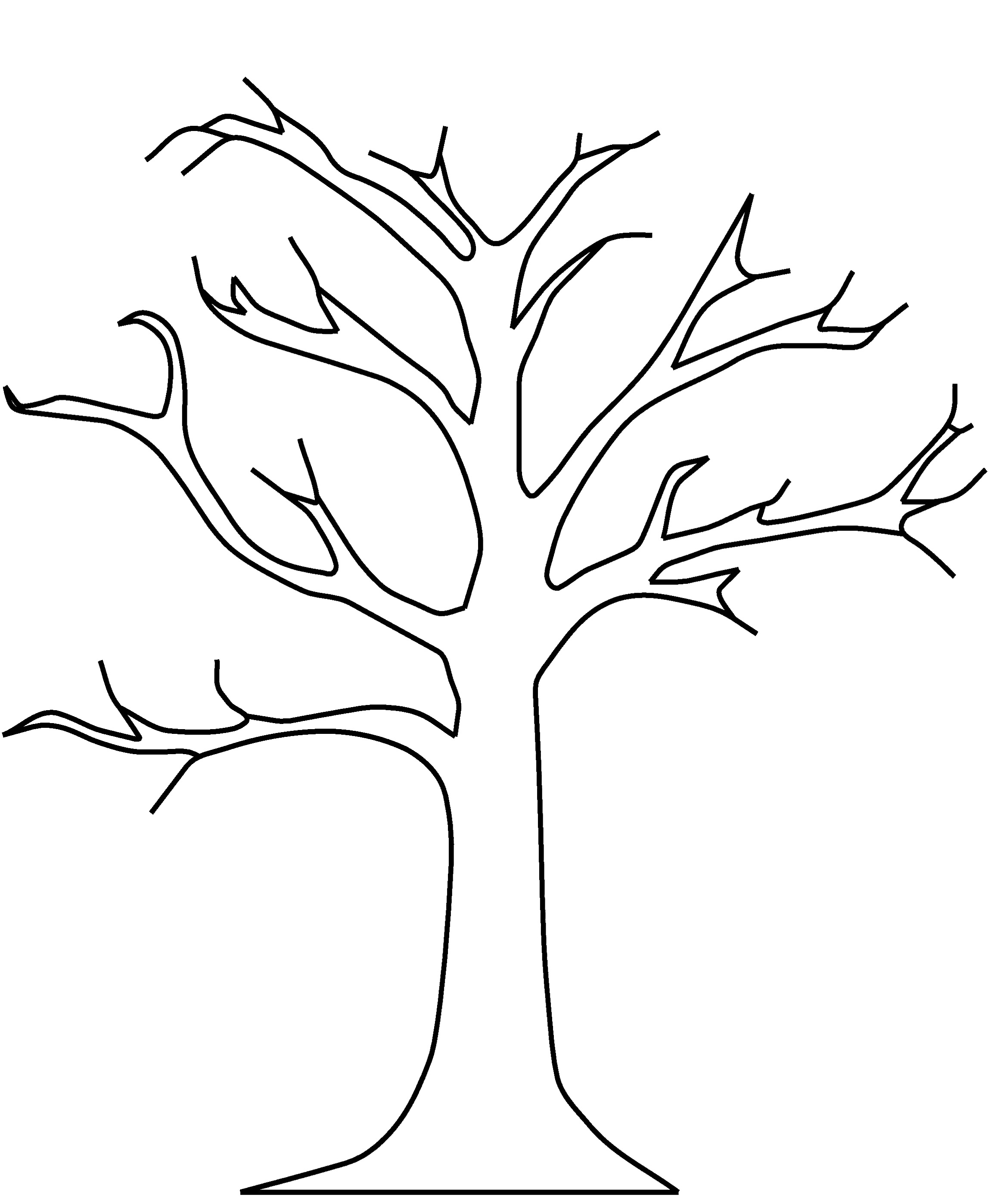 Leaf  black and white tree no leaves clipart black and white collection