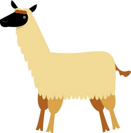 Llama clip art cartoon free clipart images 4