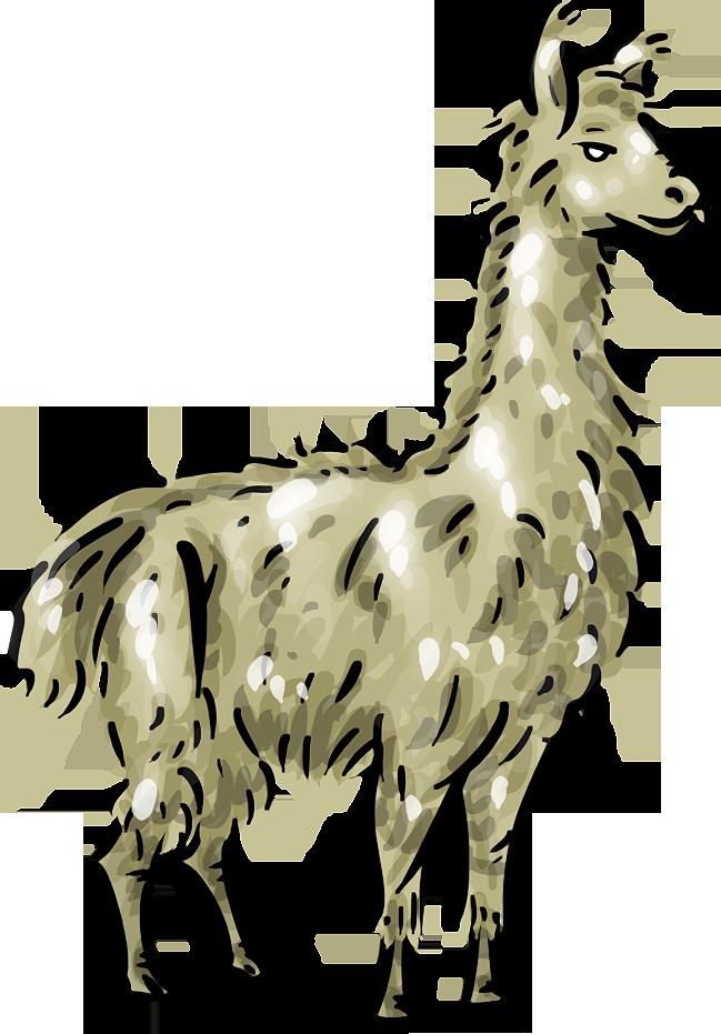 Llama clip art cartoon free clipart images 5