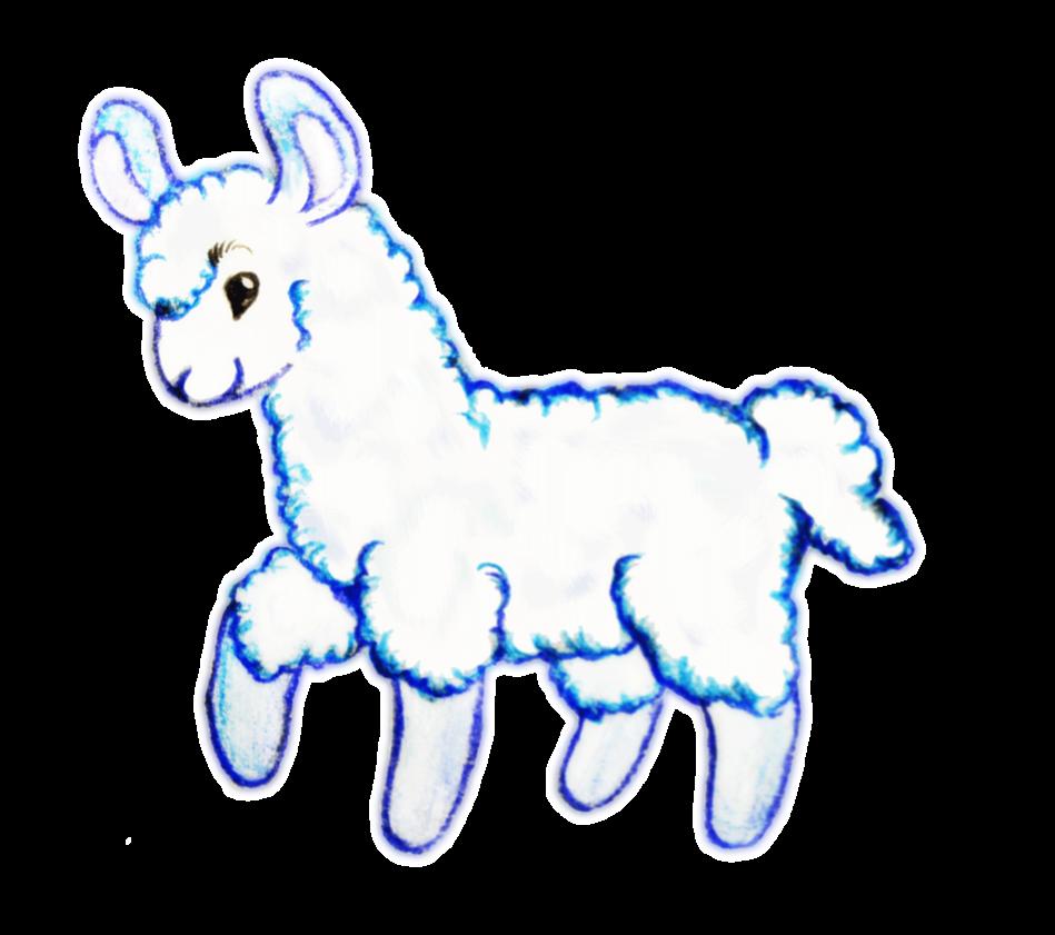 Llama clipart 2 2
