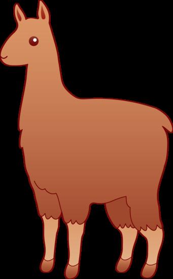 Llama clipart 3
