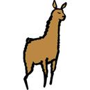 Llama clipart 4 image