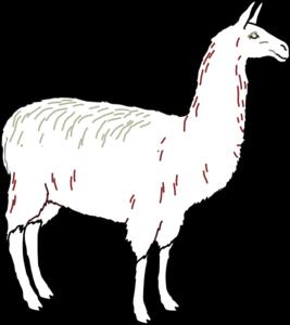 Llama clipart 8 image 2