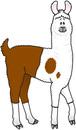 Llama clipart 8 image