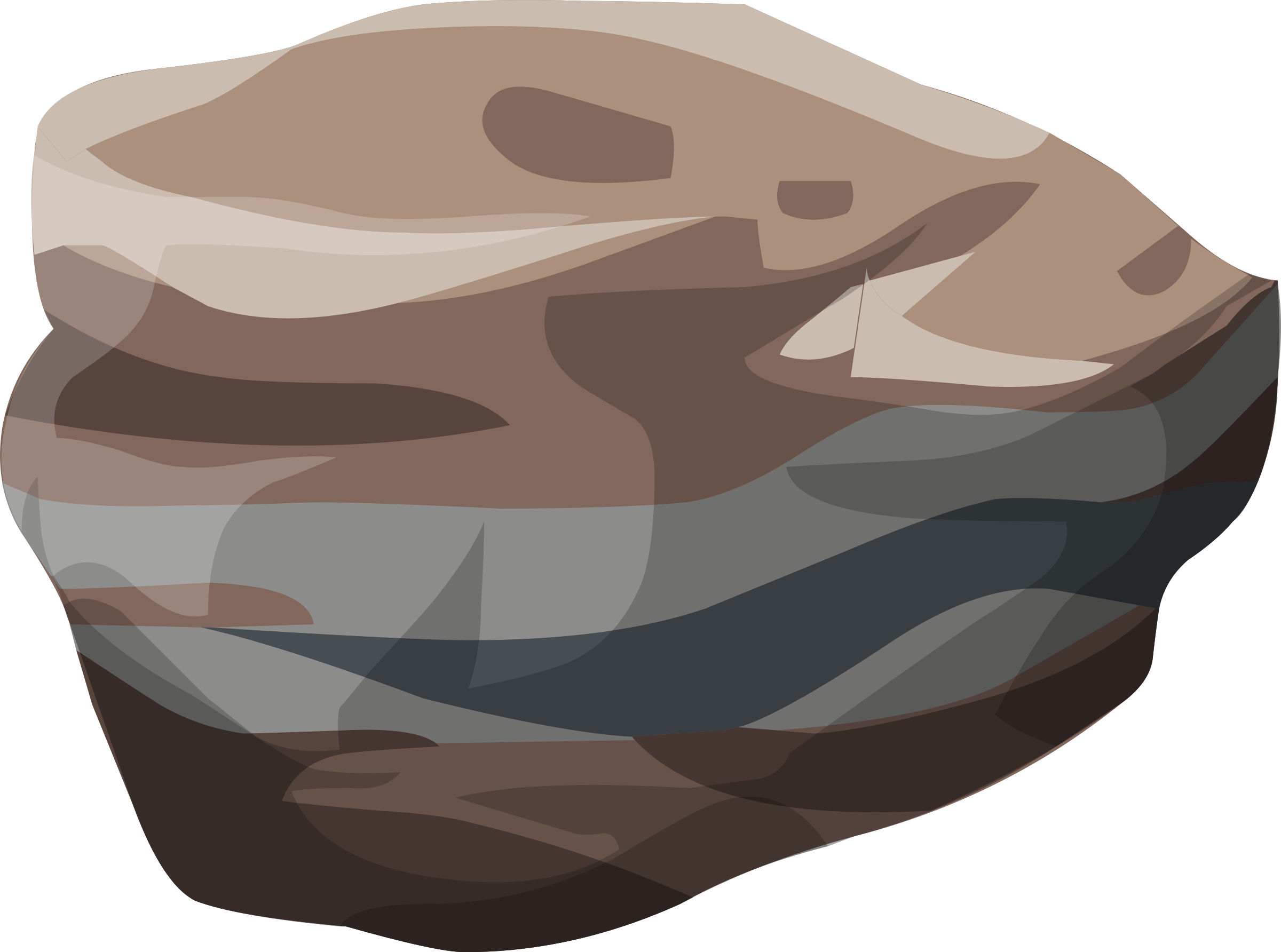 Magma rock clipart