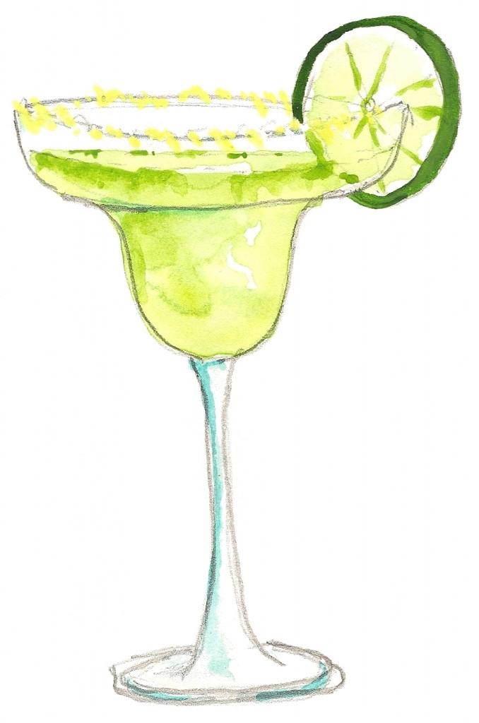 Margarita clipart 4