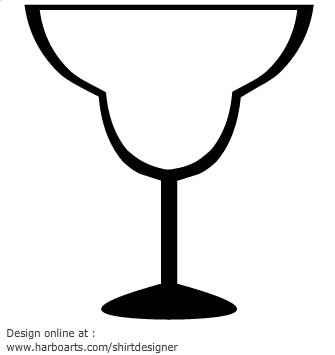 Margarita glass clipart clip art library