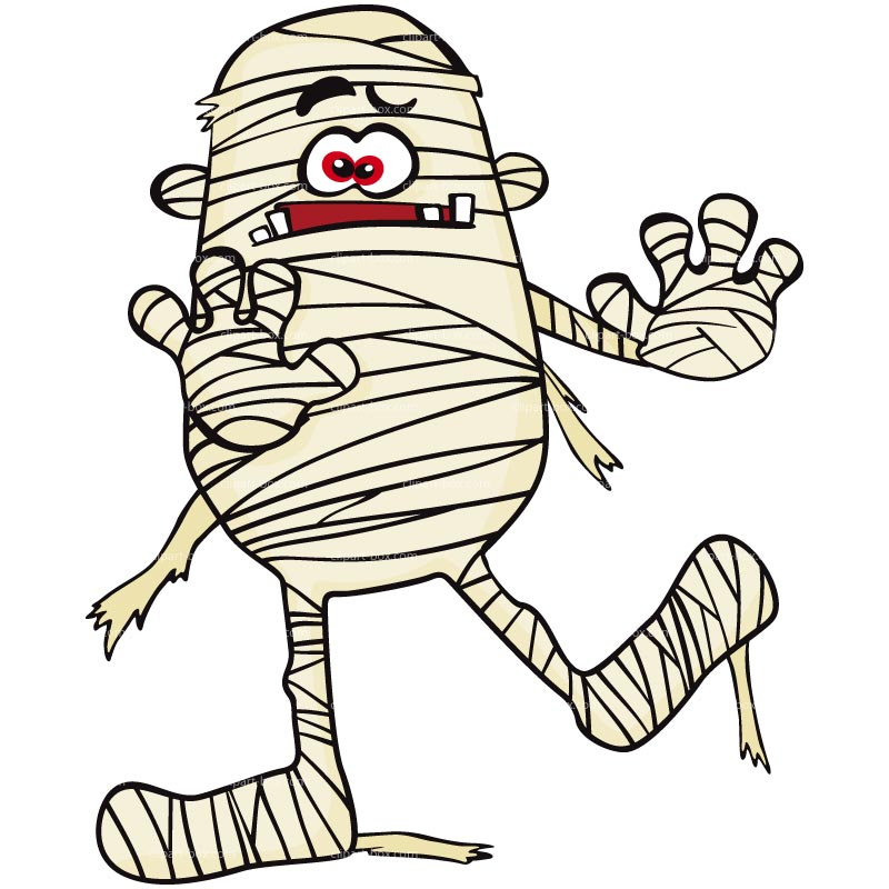 Mummy clipart 2